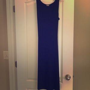 Black maxi dress szS